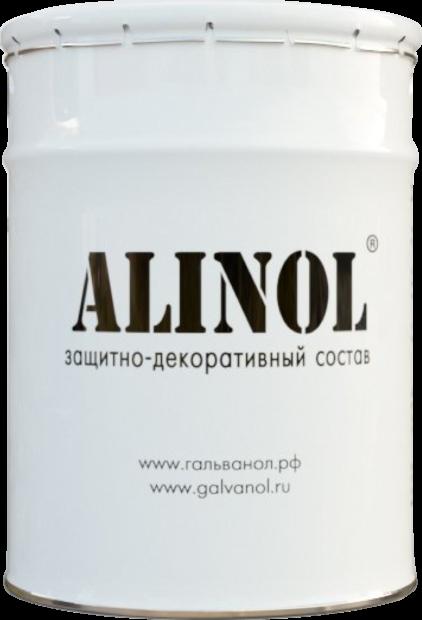 Защитно-декоративный состав alinol