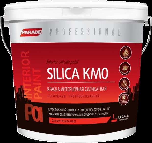 Краска интерьерная силикатная Silica KMO