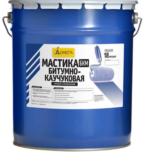 Мастика битумно-каучуковая БКМ